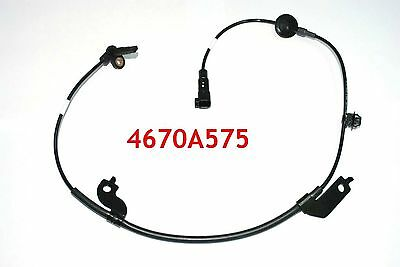 Front Left ABS Wheel Speed Sensor for 07-12 Mitsubishi Outlander 2WD Lancer ASX