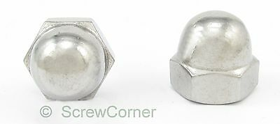 Hutmutter 10-24 UNC A2 Edelstahl - Acorn (Dome) Nut 10-24 UNC A2 Stainless Steel