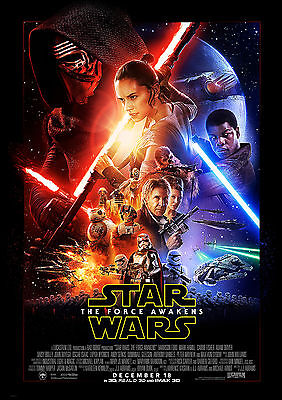 Star Wars The Force Awakens 01 (Film Posters) Glossy Poster Photo Print