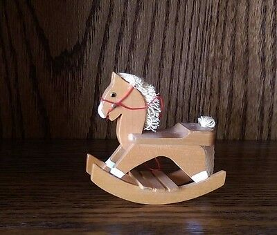 Town Square Dollhouse Miniature Rocking Horse. Gone till 10/6
