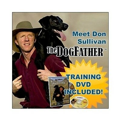 Don Sullivan Perfect DOG TRAINGING Command LARGE Collar DVD Pet Puppy Obedience