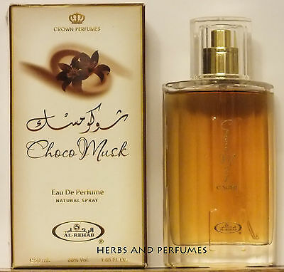 Choco Musk 50ml  EDP Perfume bold and strong Spray for brave men by Al Rehab
