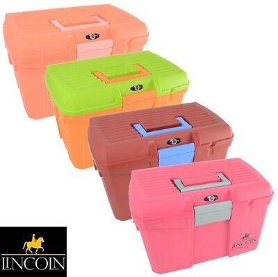 Lincoln Limited Edition Tack Box – Mounting Step/Carry Grooming Kit – FREE P&P