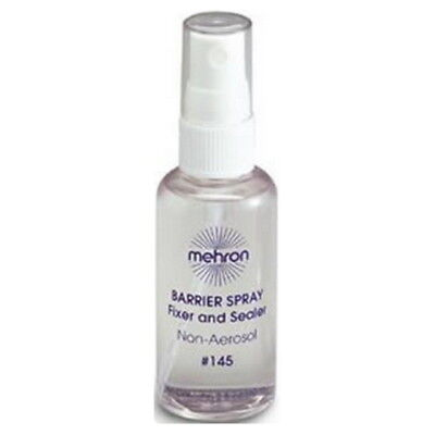 (6 Pack) mehron Barrier Spray Fixer and Sealer - Clear