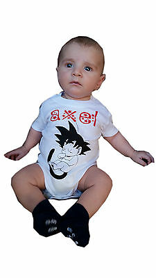 Body Bebe Son Goku Dragon Ball Personalizable Pon Tu Nombre Hijo Bola De Dragon