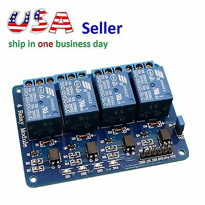 4 Channel Relay Module 5V Isolation Control 250V/10A Relay Shield for Arduino