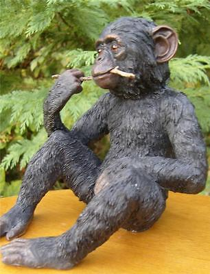 CHIMPANZEE Ornament  Figure by  Leonardo Collection ideal gift  BNEW