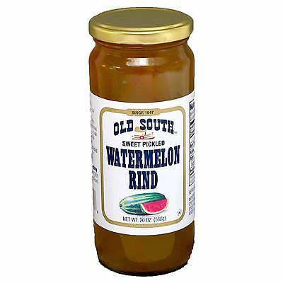 Old South Southern Sweet Pickled Watermelon Rind - 20oz x 2pk