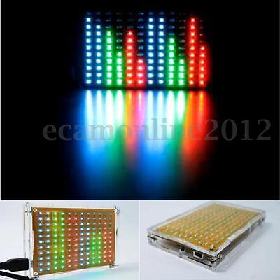 LED Flash Music Spectrum Electronic DIY Starter Kit 12x11 FFT Voice Frequency