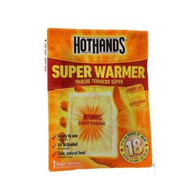 Heatmax HH1 Hot Hands Body Hand Warmer 18 Hour Pack of 10 18792