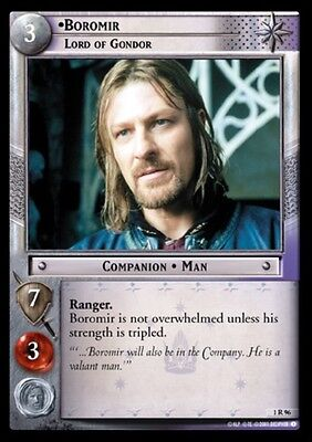 LORD OF THE RINGS TCG - 1R 96 Boromir Lord Of Gondor - Decipher - Tcg Lotr Fotr