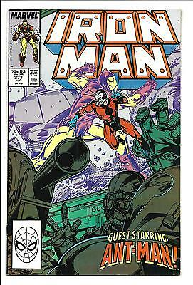 Iron Man # 233 (Guest Starring: Ant-Man, Aug 1988), Vf/nm