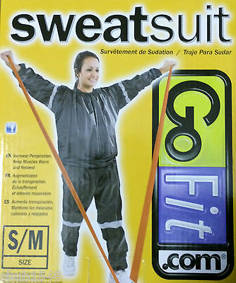 Gofit Thermal Sauna Suit Size Small Medium New In Box