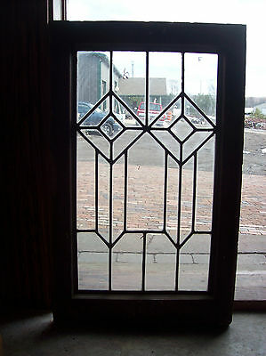 Arts and crafts dual diamond window (SG 1414)