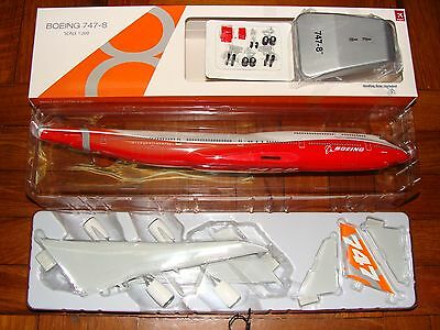 Hogan Wings Boeing B747 -8 Rollout Sunrise 1/200 W Stand and wheels **Free S&H*