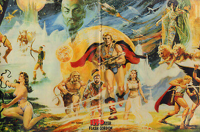 STRIPWEEKBLAD EPPO 1980 nr. 47 - POSTER FLASH GORDON / STORM / LUCKY LUKE