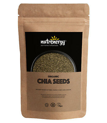 Organic RAW Chia Seeds | Dieting | Nutrition | Free Tracked Delivery