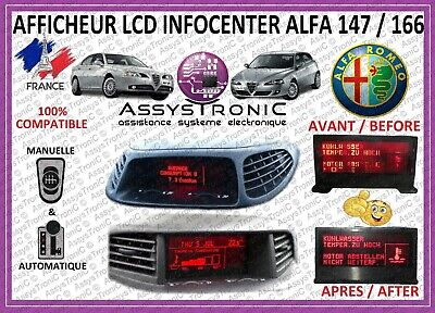 ALFA ROMEO 147/156 SCREEN DISPLAY UNIT MULTIFUNCTIONS with or without The GPS
