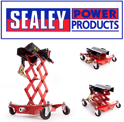 NEW Sealey 150kg Floor Transmission Gearbox Jack Saddle Lift Car/Van TJ150E