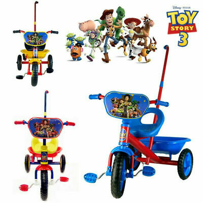 Disney Toy Story Bike Trike Bicycle Tricycle 3 Wheel Car Kid Toddler Ride On Toy