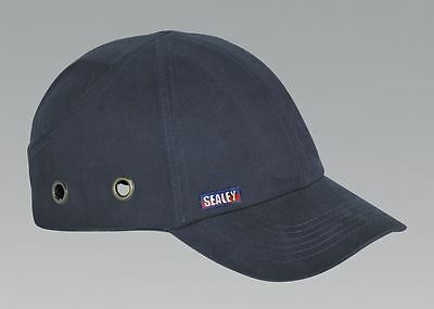Sealey Garage/Mechanic Safety Bump Work Protection Baseball Cap/Hat - SSP16