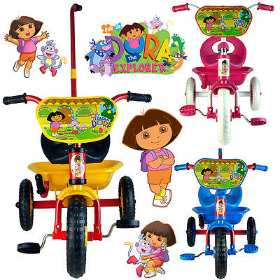 Dora The Explorer Bike Trike Bicycle Tricycle 3 Wheel Kid Toddler Ride On Toy