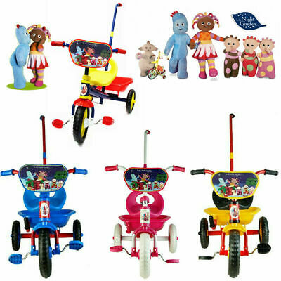 In The Night Garden Bike Trike Bicycle Tricycle 3 Wheel Kid Toddler Ride On Toy
