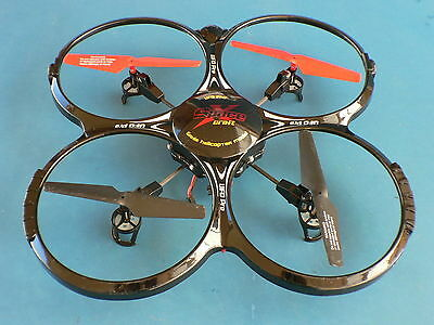 NEW X4 Remote Control 6 Axis 4CH Quadcopter UFO Large Drone With Video Camera