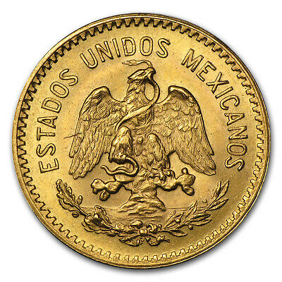 Mexican 10 Pesos Gold Coin - Random Year - SKU #1045