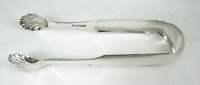 Antique Harvey Lewis Coin Silver Tongs 1811-1826