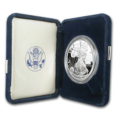 2004-W 1 oz Proof Silver American Eagle (w/Box & COA) - SKU #1282