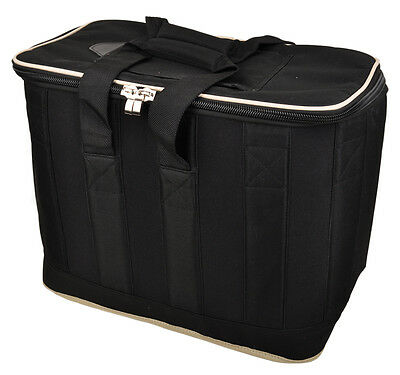 32L Large Cooler Bag | 24 can capacity | Insulated | Black