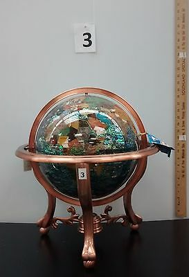 Gemstone World Globe