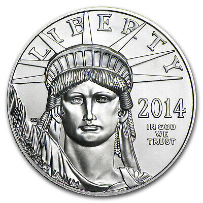 2014 1 oz Platinum American Eagle BU - SKU #79973