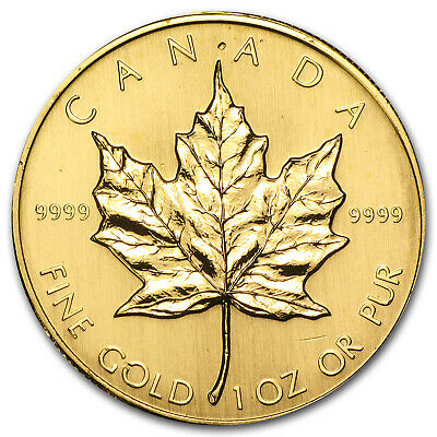 2009 Canada 1 oz Gold Maple Leaf BU SKU #46352