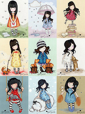 Bothy Threads GORJUSS Cross Stitch KITS 30 DESIGNS NEW SANTORO SWEET RAINBOW