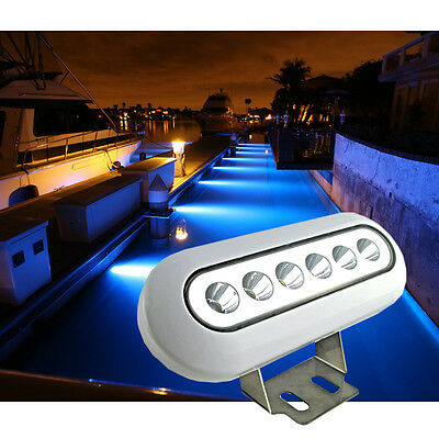 12W 12V Underwater Boat Pond Waterproof Marine Yacht Spot LED Pool Lights IP68