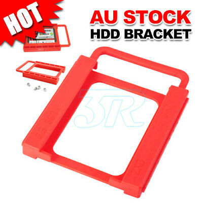 "Pc 2.5"" Hdd Ssd To 3.5"" Screw-Less Mounting Adapter Bracket Dock For Ssd Hard"