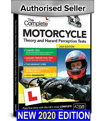 Motorcycle / Motorbike 2016 Theory & Hazard Perception Tests PC DVD-Rom. NEW