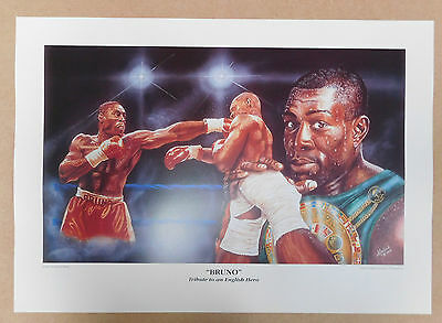 Frank Bruno Caricature Poster/Print/Photo Huge