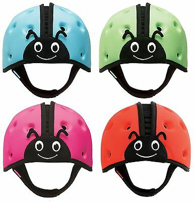 SafeheadBaby Soft Child Protective Headgear/Helmet (Blue/Green/Pink/Red)