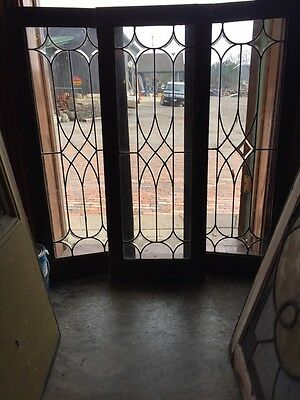 Sg 311 Set Of Three Antique Cabinet Doors Or Can Be Use For Transom Windows