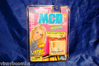 Vintage Christina Aguilera New In Package Musical Keychain Mcd Genie In A Bottle