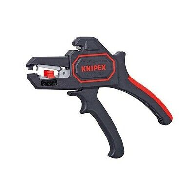 Knipex 1262180 Self Adjusting AWG 10-24 Automatic Insulation Wire Stripping Tool