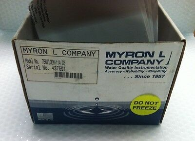 Myron L Co 756Iioem-114 Ce Conductivity / Tds Monitor Factory New  In Box