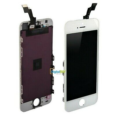 Touch Screen + Lcd Display Retina Frame Per Apple Iphone 5S Vetro Schermo Bianco