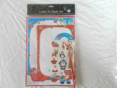Kids Xmas Toy Novelty Letter To Santa Pack Inc 2 Letters See Pictures #5