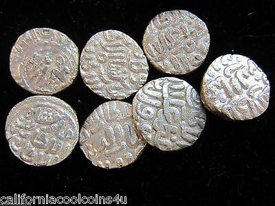 2- Coins of SULTANS OF DELHI - 1246-1555AD India Muslim - Billon Silver Content