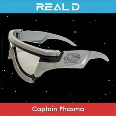 Captain Phasma 3D Glasses Star Wars VII The Force Awakens Limited Edition 3 D