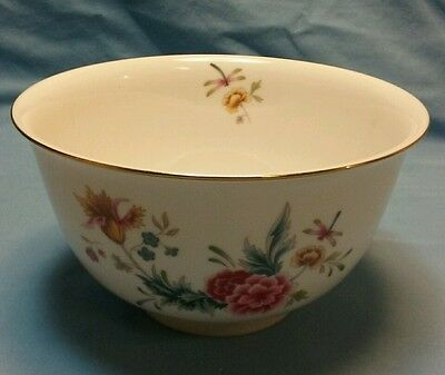 1981 Avon American Heirloom Independence Day bowl with gold edging